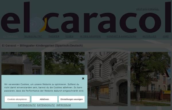 Vorschau von www.el-caracol.de, El Caracol - gestaltpädagogischer Kindergarten e. V.