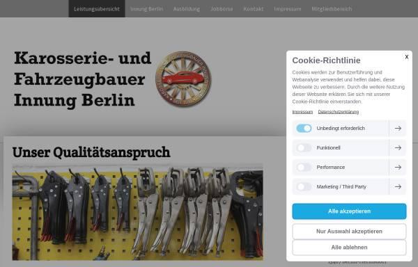 Vorschau von www.karosseriebauer-innung.de, Karosserie- und Fahrzeugbauer Innung Berlin