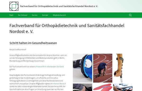 Vorschau von www.osrbb.de, Landesinnung für Orthopädietechnik Berlin Brandenburg