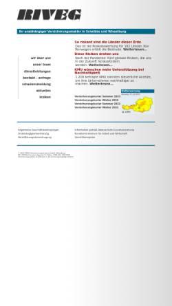 Vorschau der mobilen Webseite www.riveg.com, RIVEG Versicherungstreuhand GmbH