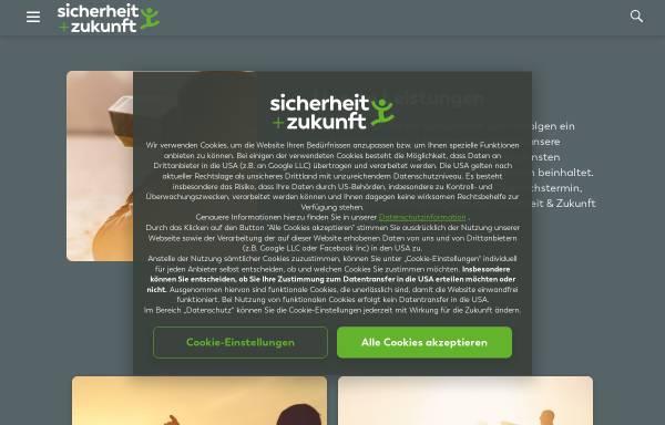 Vorschau von www.suz.at, Sicherheit & Zukunft Versicherungsmakler und Finanzdienstleistungen Ges.m.b.H.