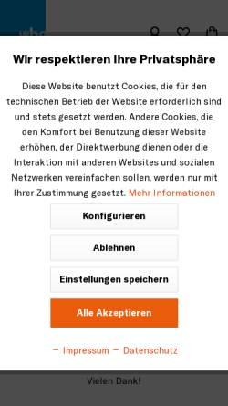 Vorschau der mobilen Webseite www.wbg-verlage.de, Konrad Theiss Verlag