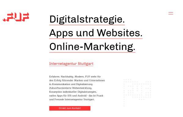 Vorschau von www.fuf.de, FUF // Frank und Freunde GmbH