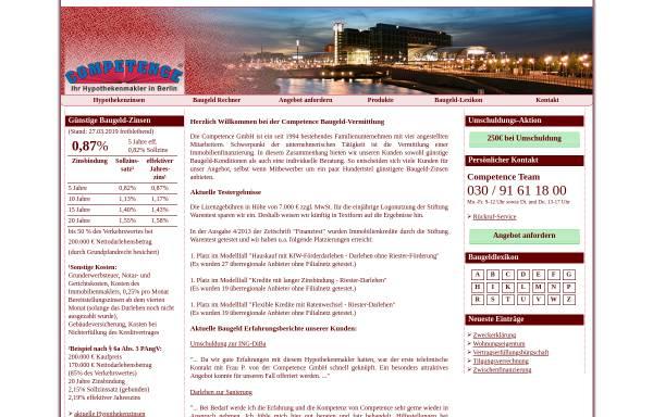 Vorschau von www.competence.eu, Competence GmbH