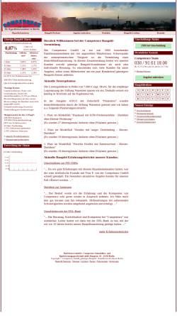 Vorschau der mobilen Webseite www.competence.eu, Competence GmbH