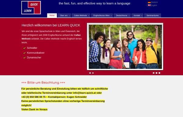 Vorschau von www.learn-quick.at, Learn Quick