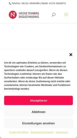 Vorschau der mobilen Webseite www.rhinevalleyinstitute.com, Rhine Valley Institute