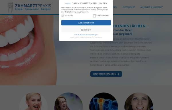 Vorschau von www.krepson.de, Krepler, Christian und Sonnemann, Kay