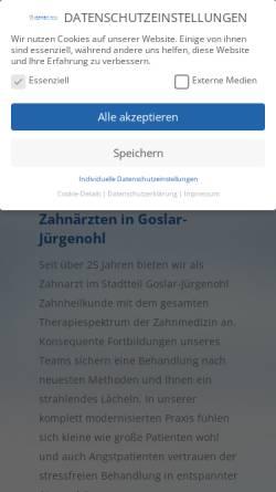 Vorschau der mobilen Webseite www.krepson.de, Krepler, Christian und Sonnemann, Kay