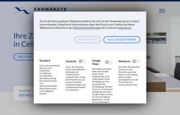 Vorschau von www.zahnaerzte-am-allerwehr.de, Pütz, Dr. med. dent. Günter und Scholz, Dr. med.dent. Joachim
