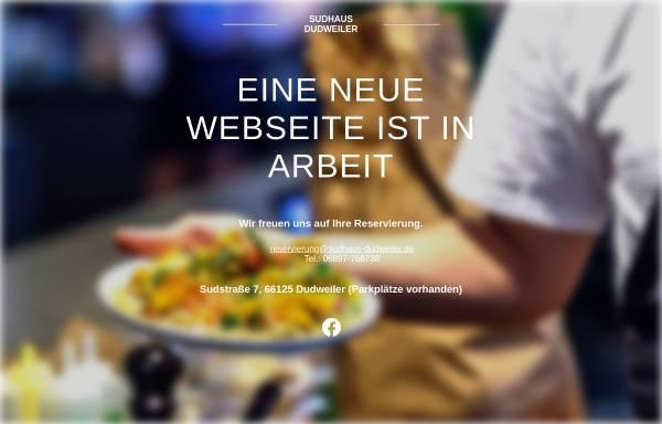 Vorschau von www.sudhaus-dudweiler.de, Gasthausbrauerei Sudhaus Hiltrud Denzer Dudweiler