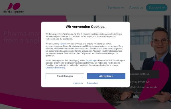 Vorschau von www.direktundonline.de, Direkt + Online GmbH