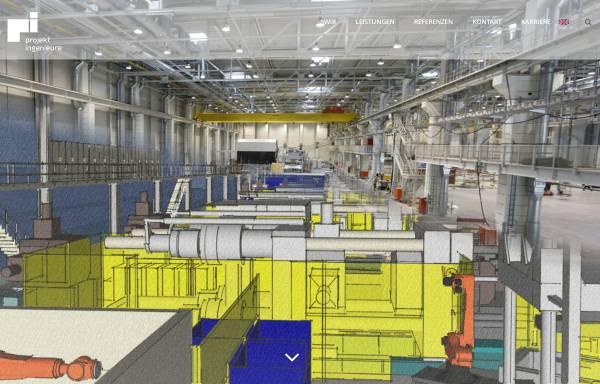 Vorschau von www.projektingenieure.de, Projektingenieure mbH