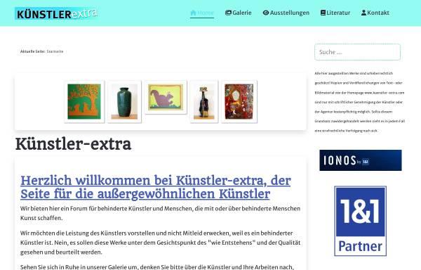 Vorschau von www.kuenstler-extra.de, Künstler Extra