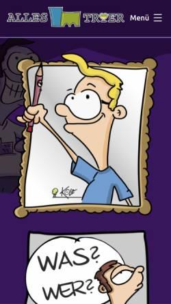Vorschau der mobilen Webseite www.kunstsicher.de, Kunstsicher zeigt Luise Kött-Gärtner und andere Künstler