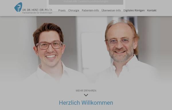 Vorschau von oralchirurgie-koblenz.de, Dr. Dr. Peter Herz