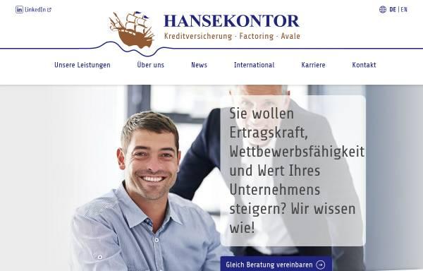 Vorschau von www.hansekontor-makler.de, Hansekontor Maklergesellschaft mbH