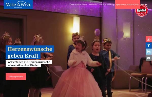 Vorschau von www.make-a-wish.at, Make A Wish Foundation Austria