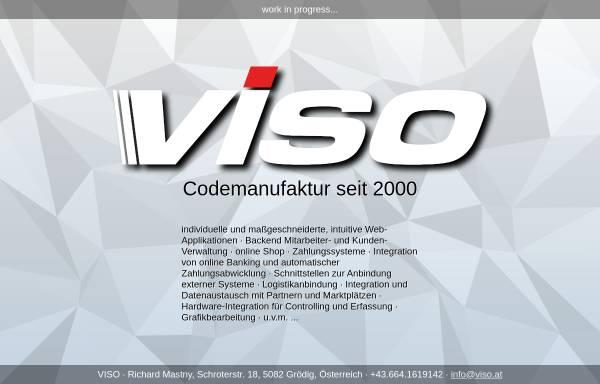 Vorschau von www.viso.at, VISO Internet Service
