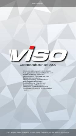 Vorschau der mobilen Webseite www.viso.at, VISO Internet Service