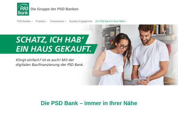 Vorschau von www.psd-bank.de, Verband der PSD Banken e.V.
