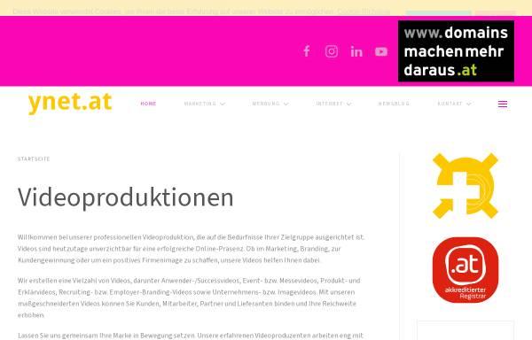 Vorschau von www.ynet.at, Ynet - Agentur für Kommunikation & Mediendesign