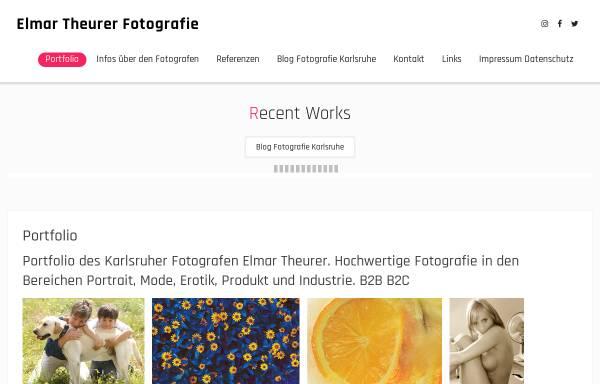 Vorschau von theurer-fotografie.de, Atelier für Fotografie und Styling - Elmar Theurer