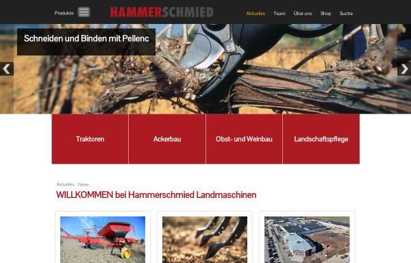 Vorschau von www.hammerschmied.at, Landmaschinen Hammerschmied & Söhne G.m.b.H.