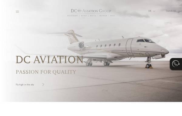 Vorschau von www.dc-aviation.com, DaimlerChrysler Aviation GmbH