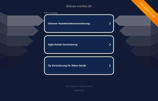 Vorschau von www.dianas-cocker.de, Diana's
