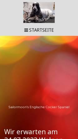 Vorschau der mobilen Webseite www.spiech.de, Sailormoon's