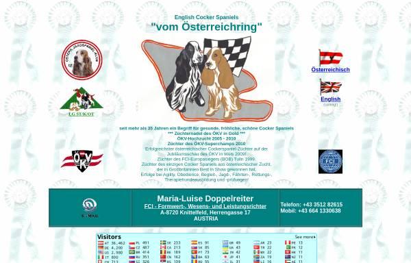 Vorschau von www.cocker-spaniel.at, Vom Österreichring