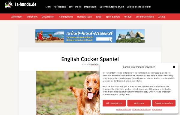 Vorschau von www.cocker-vomrauhenholz.de, Vom Rauhen Holz