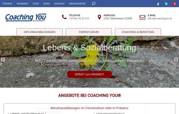 Vorschau von www.coachingyou.at, CoachingYou - Gabriela Schildbach