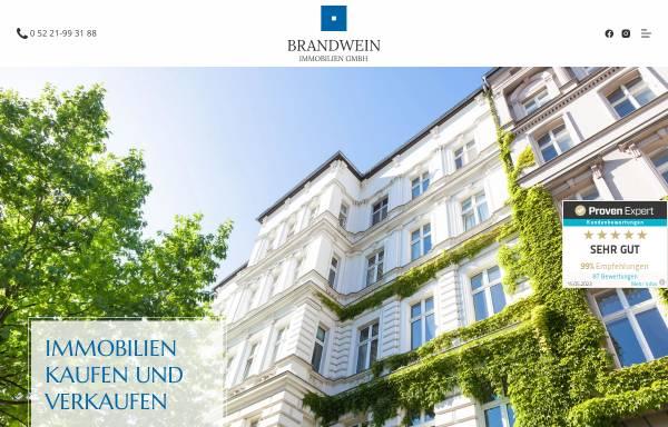 Vorschau von www.brandwein-immobilien.de, Brandwein Immobilien GmbH, Herford