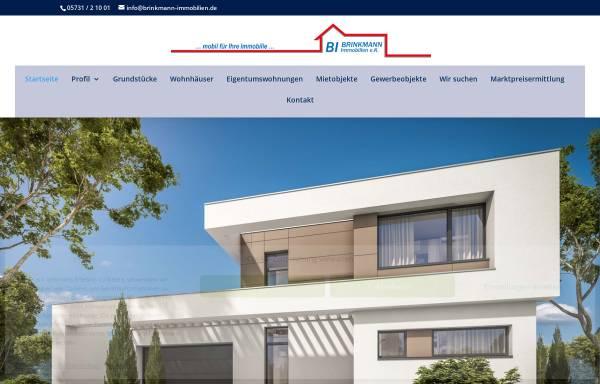 Vorschau von www.brinkmann-immobilien.de, Brinkmann Immobilien