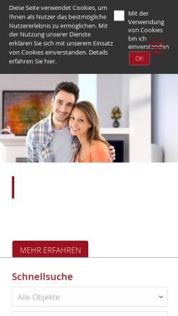 Vorschau der mobilen Webseite www.pottharst.de, Immobilien Pottharst GmbH & Co. KG [RDM], Herford