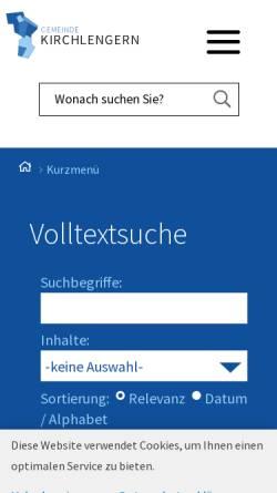 Vorschau der mobilen Webseite www.kirchlengern.de, Interkommunales Gewerbegebiet Oberbehme