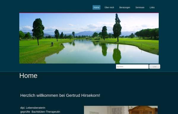Vorschau von bachblueten-hirsekorn.ch, Gertrud Hirsekorn