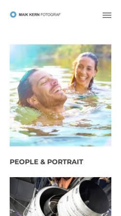 Vorschau der mobilen Webseite www.maik-kern.de, Maik Kern