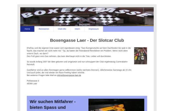 Vorschau von boxengasse-laer.de, Boxengasse Laer