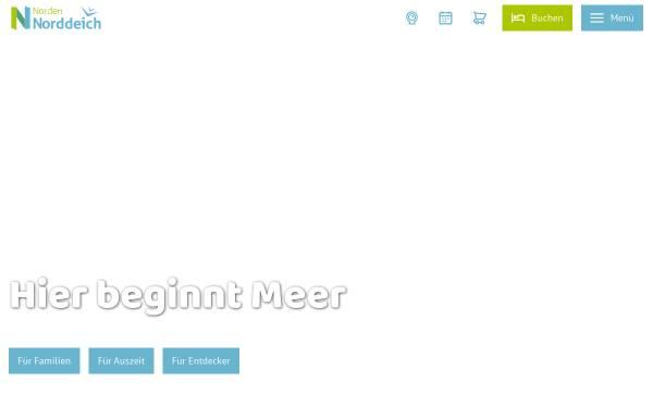 Vorschau von www.norddeich.de, Norden Norddeich