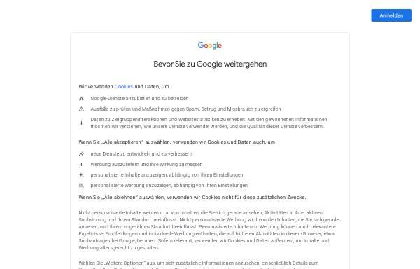 Vorschau von news.google.de, Google News