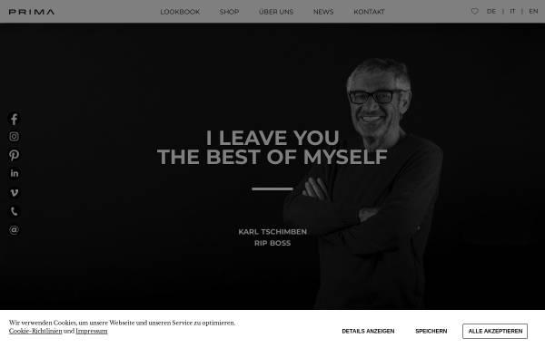Vorschau von www.prima-net.it, Prima SAS