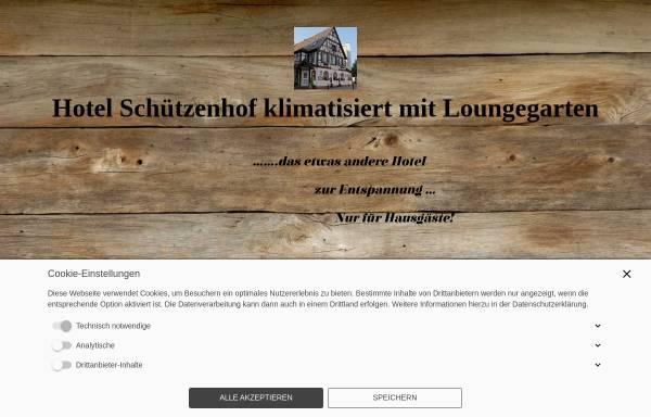 Vorschau von www.hotel-buerstadt.de, Hotel-Restaurant Schützenhof