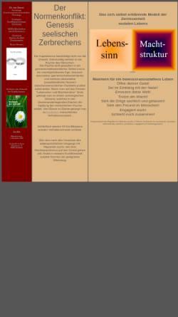 Vorschau der mobilen Webseite www.pastor-terhorst.de, Psychologie und Seelsorge [ter Horst, Dr. Karl W.]