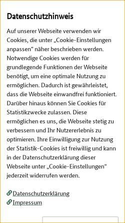 Vorschau der mobilen Webseite tgrdeu.genres.de, TGRDEU - Zentrale Dokumentation Tiergenetischer Ressourcen in Deutschland