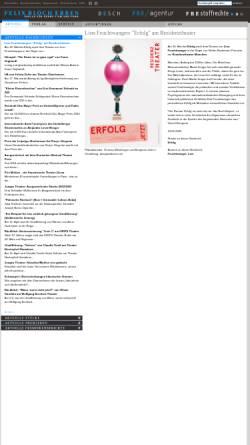 Vorschau der mobilen Webseite www.felix-bloch-erben.de, Felix Bloch Erben