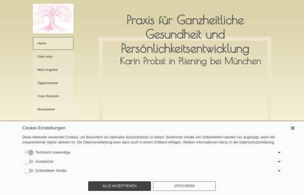 Vorschau von www.gesundheitsberatung-probst.de, Gesundheitsberatung Probst