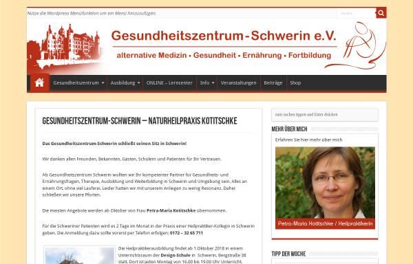 Vorschau von gesundheitszentrum-schwerin.de, Gesundheitszentrum Schwerin